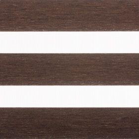 Dark Brown Zebra Blind