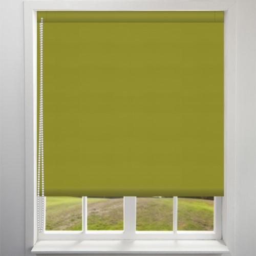 Green Blackout Roller Blind