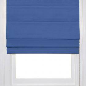 Blue Roman Blind